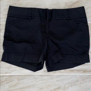 Express Black Dress Shorts